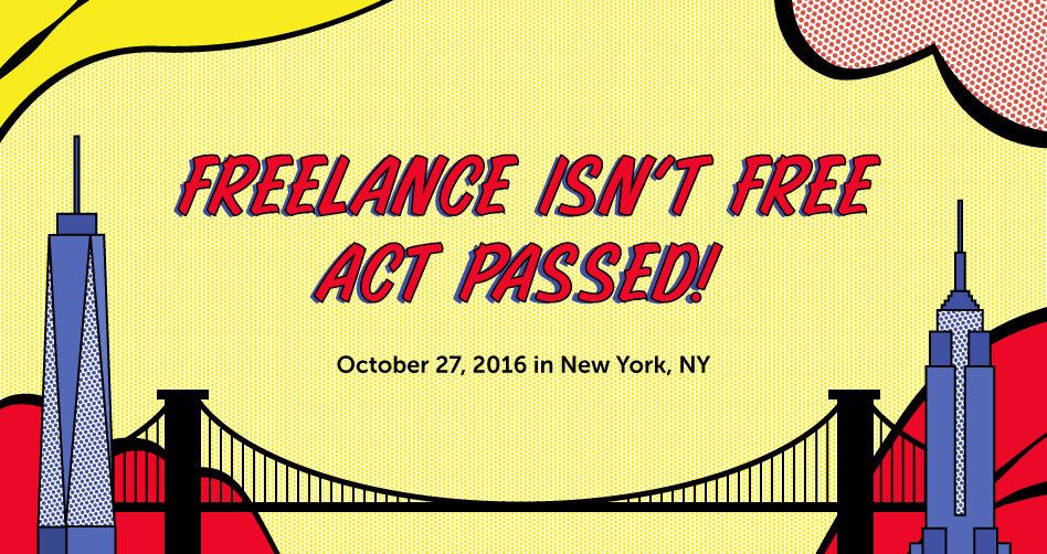 Freelance Isn't Free Act passes in NYC with 51 votes!