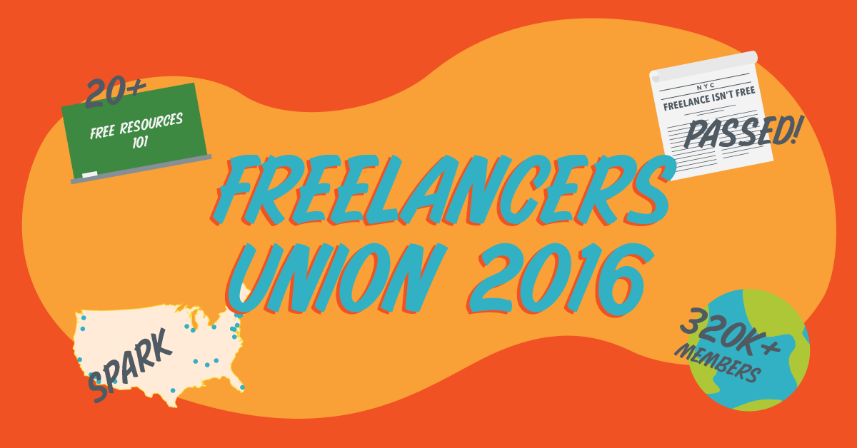 Looking back on 2016, an historical year for freelancers