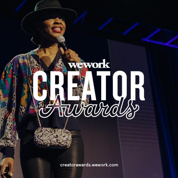 wework announces the creator awards