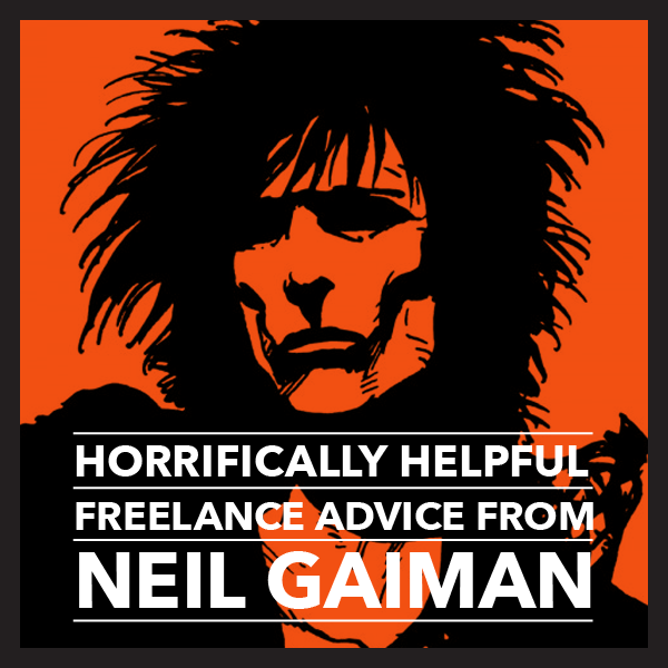 Neil gaiman writing advice from ray