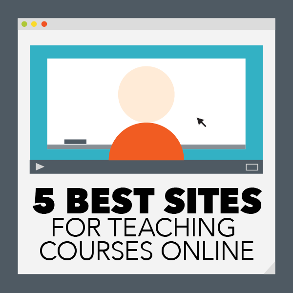 5 Best Sites for Teaching Courses Online