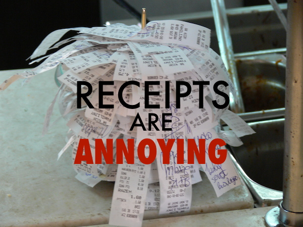 4 Easy Ways To Keep Track Of Receipts